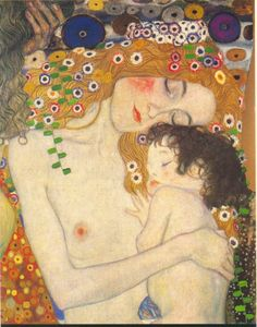 klimt mother child